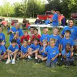 Pic #1- Scouts of Pack 451 participated in the first annual Rocket Launch on Saturday June 30 at the Duson Space Center. Seated( l-r): Eric Meadows, Jacob Rhymes, Caleb Hebert, Brayden Baudoin, Jace Wilks, Austin Wilks, Andrew Breaux. Middle Row: Caden Ardoin, Evan Tassin, Andrew Thibodeaux, Wayne L